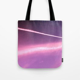 Blotchiness in sky Tote Bag