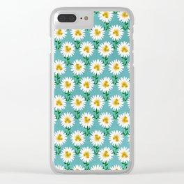 Daisy Unicorns Clear iPhone Case