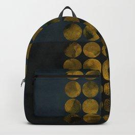 golden winter times Backpack