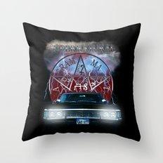 Supernatural Theme Car BlueL2 Throw Pillow