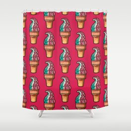Tentacle Treat (gumdrop) Shower Curtain