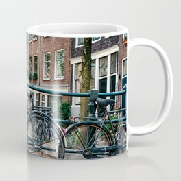 Bicycles in Amsterdam Coffee Mug