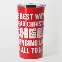 Christmas Cheer Travel Mug