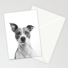 Cute Puppy Dog Portrait Art Print, Best Friend, Doggy Animal Nursery, Pet Animal Printable Poster Stationery Cards