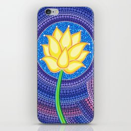 Dreamy Lotus Family iPhone Skin