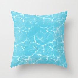poolside fun Throw Pillow