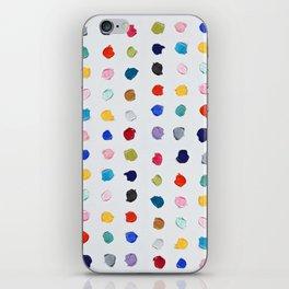 Polka Daubs iPhone Skin