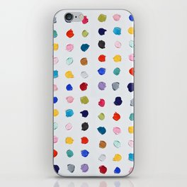 Polka Daubs iPhone Skin