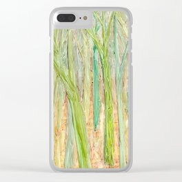 Forest 20 Clear iPhone Case