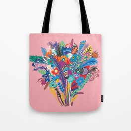 Fantasy bouquet of flowers Tote Bag