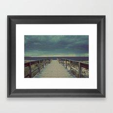 Nautica: Pathway to Horizon Framed Art Print