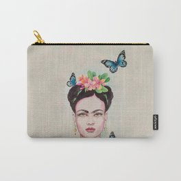Tropical Frida by Andrea Carry-All Pouch