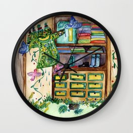Magic Closet Wall Clock