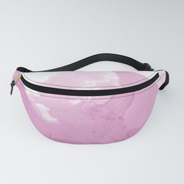 Pink Water Fanny Pack