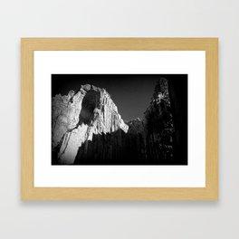 Camino Del Rey Framed Art Print