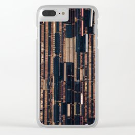railway station Clear iPhone Case