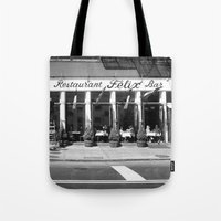 broadway Tote Bags featuring Broadway by Jon Cain
