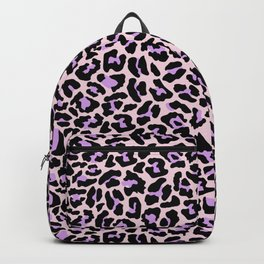 Pastel leopard fur II Backpack
