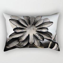Heavy Metal Flower Rectangular Pillow
