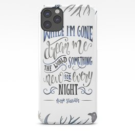 WHILE I'M GONE iPhone Case