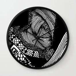 Zentangle #20 Wall Clock