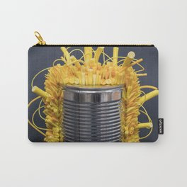 I Can : Energy (Yellow) | Abstract Sculpture by Stephanie Kilgast Carry-All Pouch