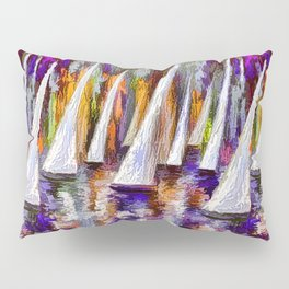 Sails To-Night Pillow Sham