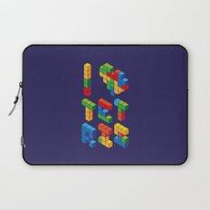 I Heart Tetris Laptop Sleeve