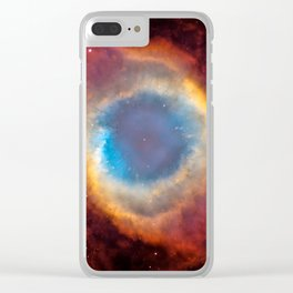 Helix Nebula, NGC 7293 Clear iPhone Case
