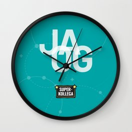 JA OG Wall Clock