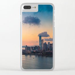 HONG KONG 09 Clear iPhone Case