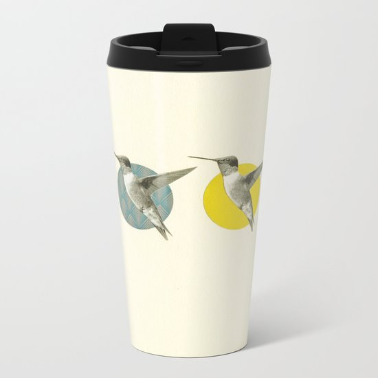The Hummingbird Dance Metal Travel Mug