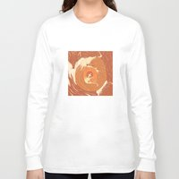foxes Long Sleeve T-shirts featuring Foxes by Beesants