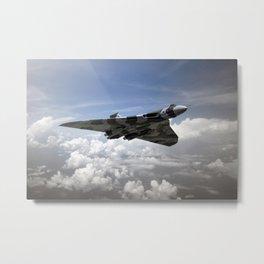 Vulcan Airborne Metal Print