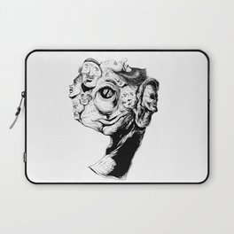 9 faces 9 Laptop Sleeve