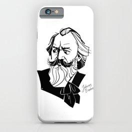 Johannes Brahms iPhone Case