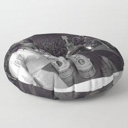 Richards Poster, Rolling Stones, Classic Rock, Canvas Print Floor Pillow