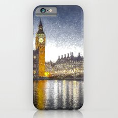 Westminster At Night Snow Slim Case iPhone 6s