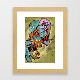 does Framed Art Print