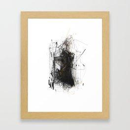 Unwelcome Gaze – Amazon 10 Framed Art Print