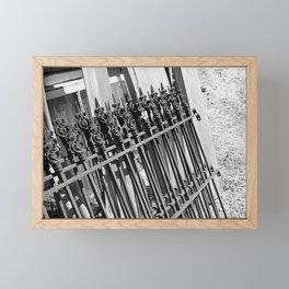 A False Narrative Framed Mini Art Print