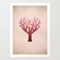 jane eyre Art Prints featuring Jane Eyre - NO TEXT by Christian Jackson
