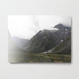 Milford Sound New Zealand Metal Print