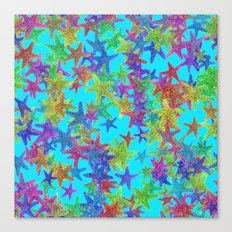 Starfish Parade Canvas Print