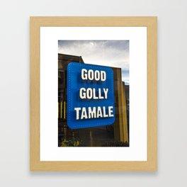 Good Golly Tamale Framed Art Print