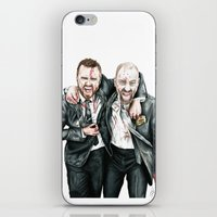 breaking bad iPhone & iPod Skins featuring Breaking Bad by 13 Styx