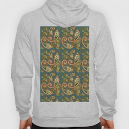 Oriental pattern blue ( https://society6.com/simpledoodles/collection ) Hoody