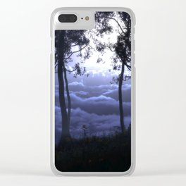 Skygate (Night) Clear iPhone Case