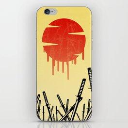 Katana Junkyard iPhone Skin