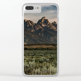 Teton Morning Clear iPhone Case